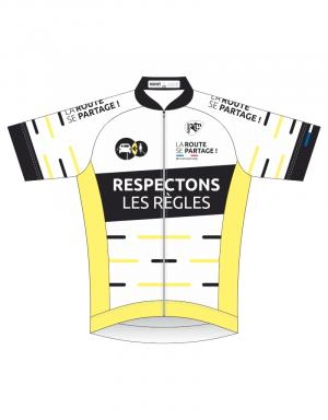 Maillot cycliste pro+ manches courtes