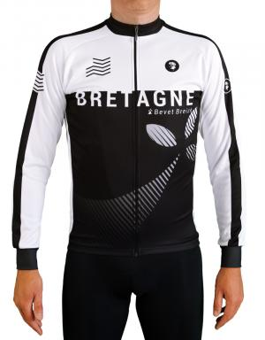 Maillot cycliste manches longues-Bretagne