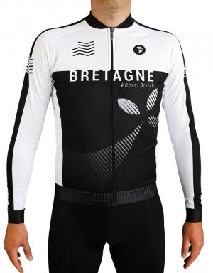 Maillot cycliste manches longues-Pro+ Bretagne