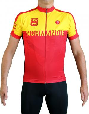 Maillot cycliste Normandie