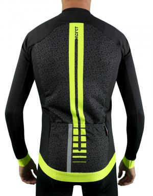 Maillot pluie cycliste manches longues